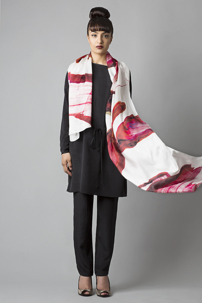 Nahara 2015 Collection silk scarves