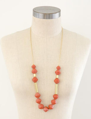 Karis Chunky Scoop Necklace-3 colors