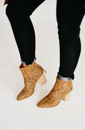The Wendy Bootie - Cheetah