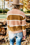 The Dolly Sweater - Blush Multi