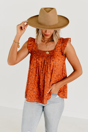 The Sandy Embroidered Top - Natural