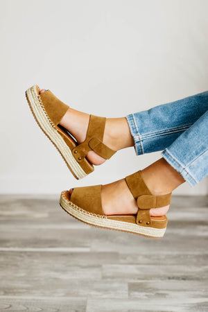 The Valley - Coffee | Espadrille Sandal