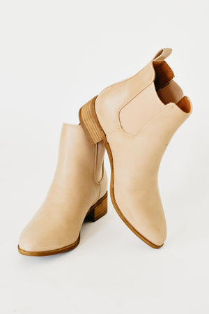 The Norway Chelsea Bootie || Taupe