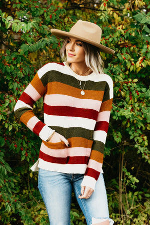 The Omega Sweater - Multi