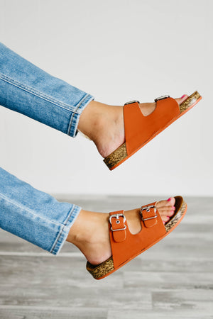 The Luka Sandal - Brick