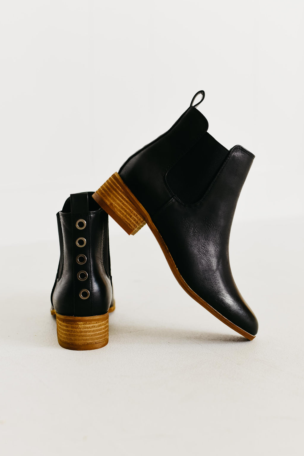 The Norway Bootie Button Bootie - Black