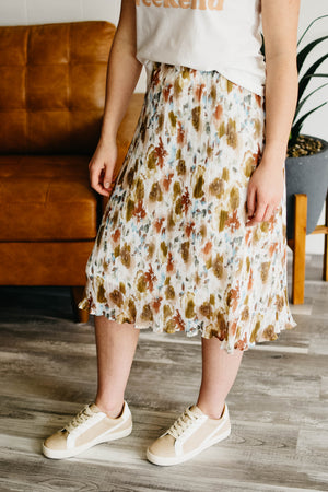 The Sophie Midi Skirt - Multi