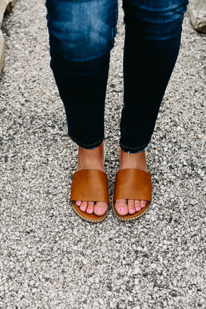 The Micah Sandal - Tan