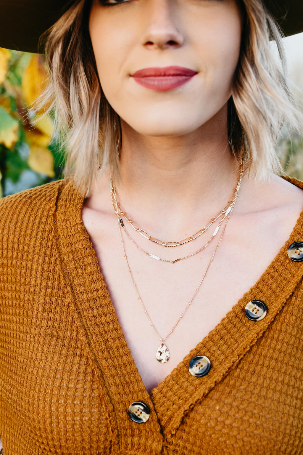 The Kitz Necklace - Gold