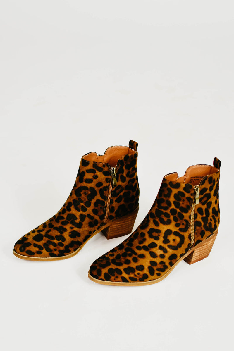 The Rachel Ankle Boot - Leopard