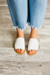 The Kaylee Sandal - White