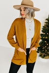 The Renae Cardigan - Mustard