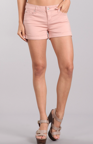 colored cuff shorts (3) - MOD Boutique