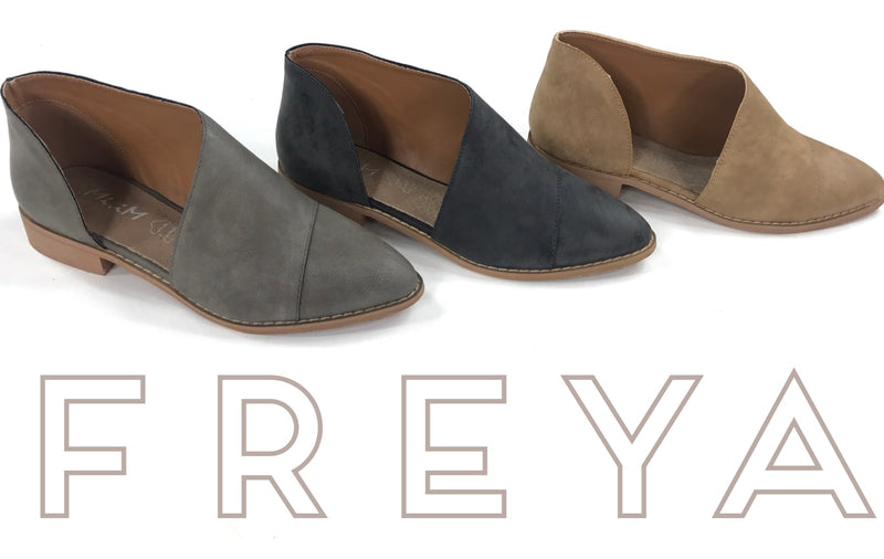 Freya (3 Colors-Grey, Sand, & Black) - MOD Boutique