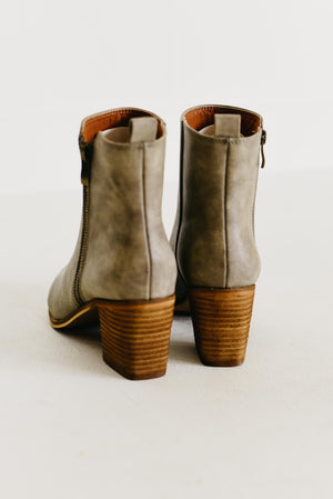 The Cindy Bootie - Grey