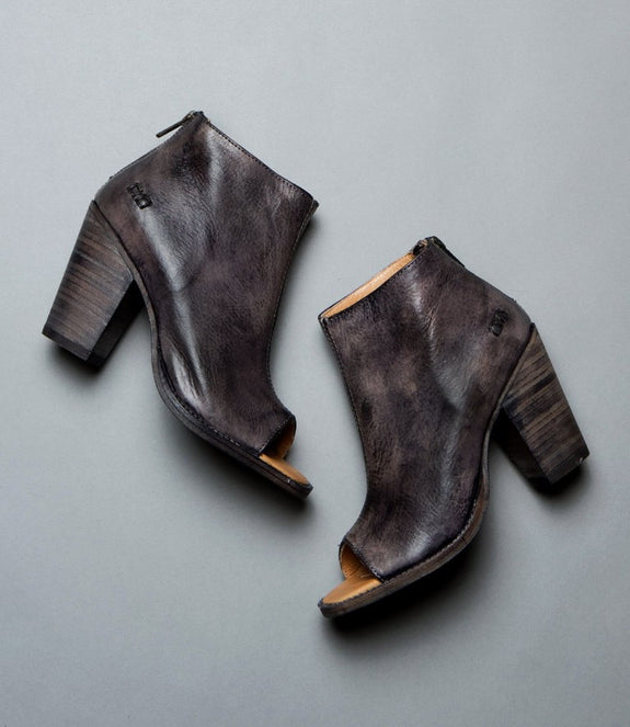 Onset Open Toe Bootie - MOD Boutique