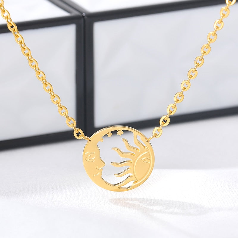 Moon and Sun Pendant