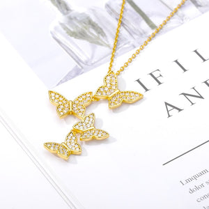 Flying Butterfly Necklace