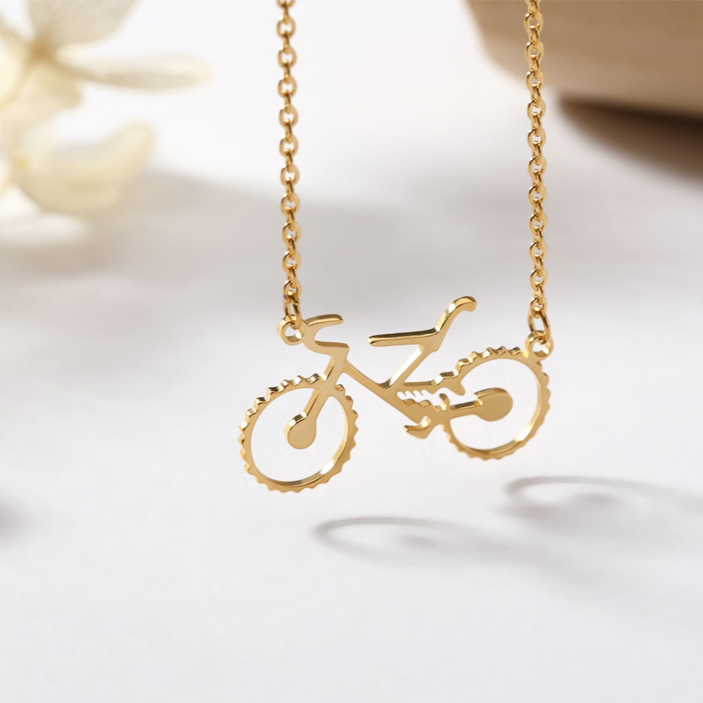 Bicycle Charm Pendant
