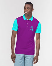 Load image into Gallery viewer, DMC Queen City Men's Slim Fit Short Sleeve Polo