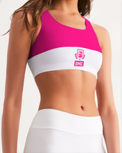 Load image into Gallery viewer, DMC Pink Women's Seamless Sports Bra