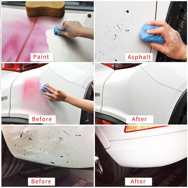 Auto Care Car Wash Detailing Magic Car truck Clean Clay Bar 100g Bar Auto Vehicle Detailing Cleaner Car Styling Cleaning Tools - Ikan Apparel