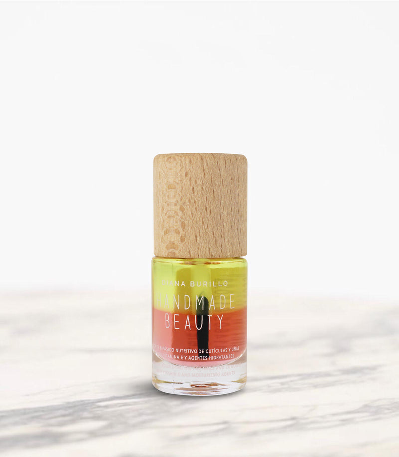 Biphasic Oil Non Toxic Nail Treatment - Handmade Beauty