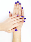 Esmalte de Uñas No Toxico Color Eggplant - Handmade Beauty