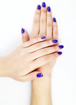 Non-Toxic Color Eggplant Nail Polish - Handmade Beauty