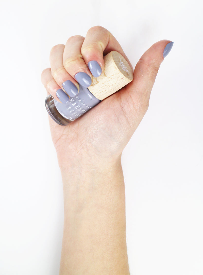 Non Toxic Color Mushroom Nail Polish - Handmade Beauty