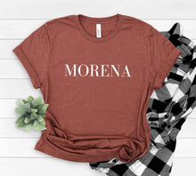 Load image into Gallery viewer, Morena Shirt, Graphic Tees for Women of Color, People of Color Shirt Ideas