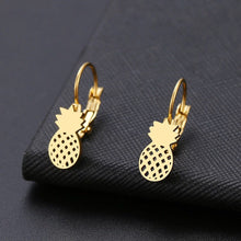 Load image into Gallery viewer, Pineapple Earrings (Silver)