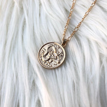Load image into Gallery viewer, Coin Pendant Necklace