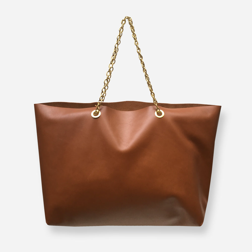 Load image into Gallery viewer, JACK TOTE BAG • CARAMEL