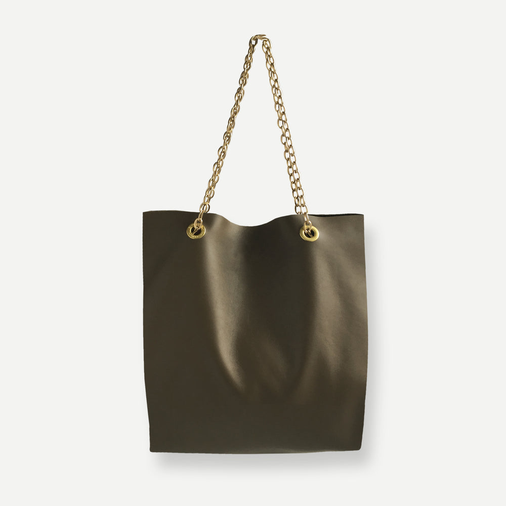 Load image into Gallery viewer, JACKSON TOTE BAG • OLIVE KHAKI