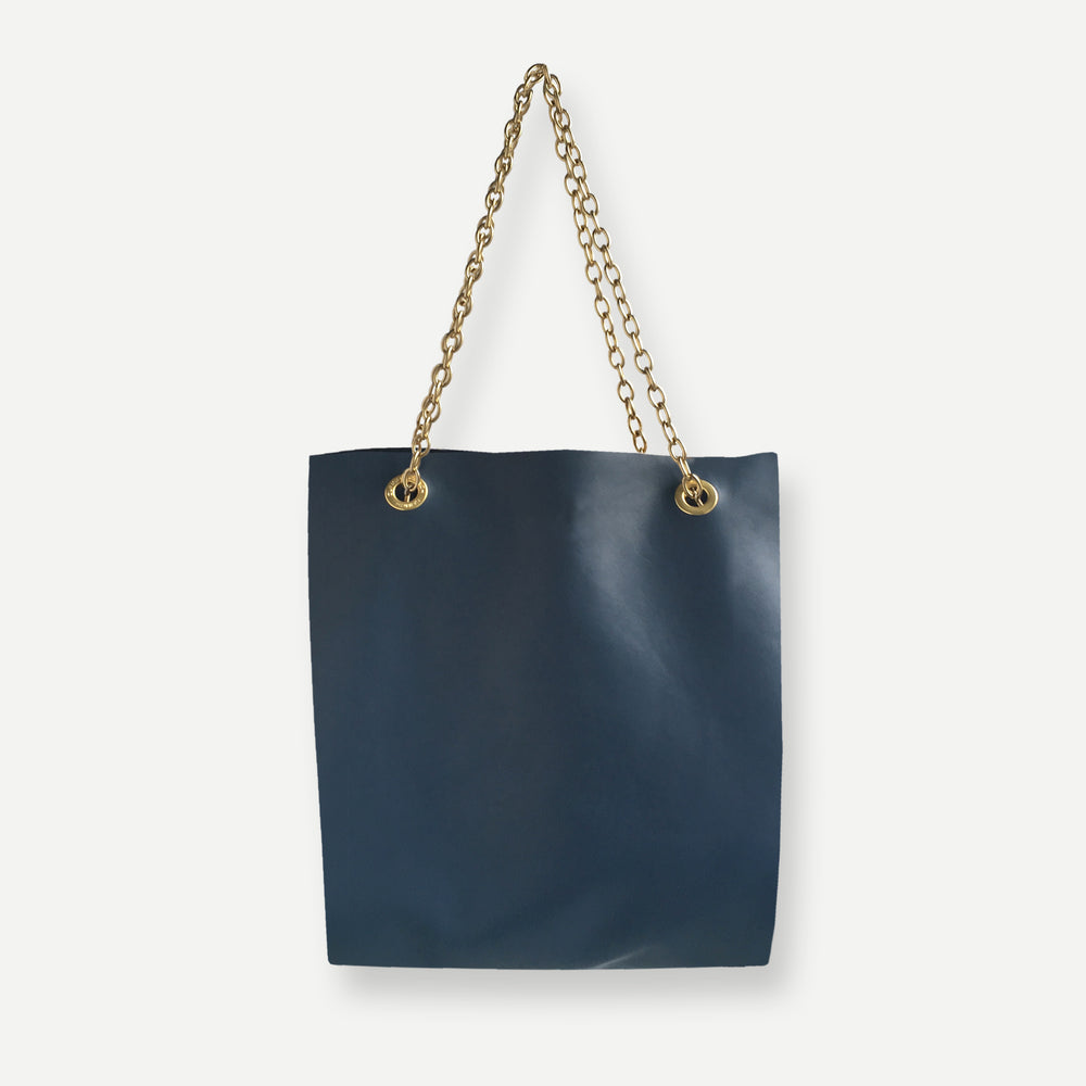 JACKSON TOTE BAG • COMO BLUE