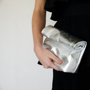 Load image into Gallery viewer, SPC09 • KRAFT CLUTCH METALLIC SILVER