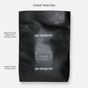 Load image into Gallery viewer, KRAFT CLUTCH • CAFE AU LAIT