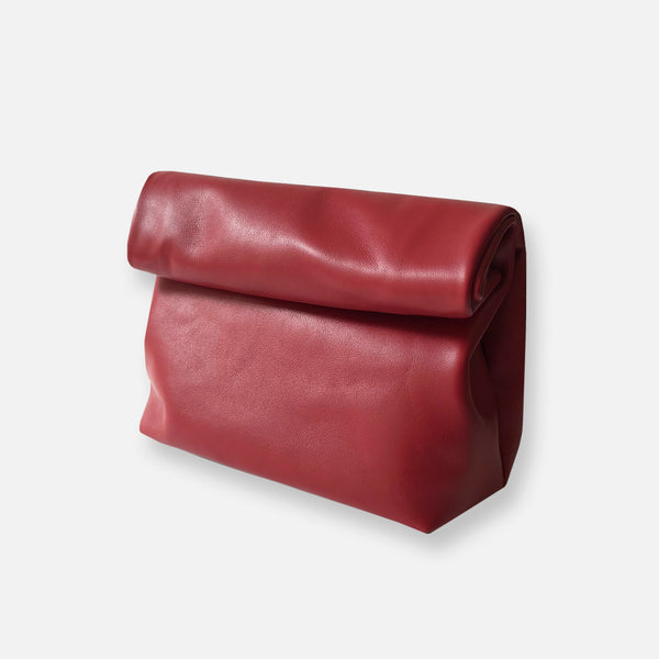 KRAFT CLUTCH • DAHLIA RED