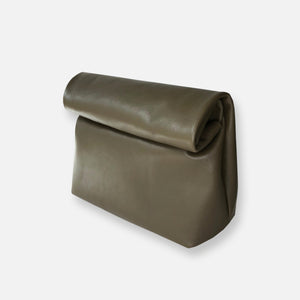 Load image into Gallery viewer, KRAFT CLUTCH • OLIVE KHAKI