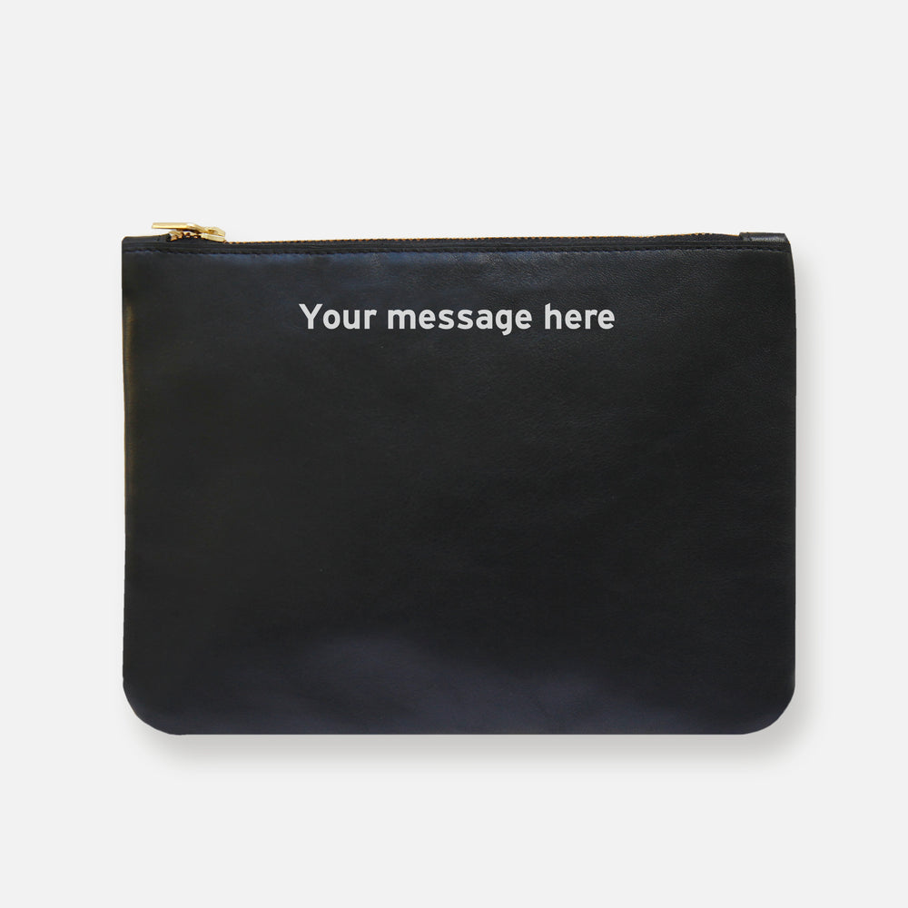 Load image into Gallery viewer, MESS POUCH • BLACK