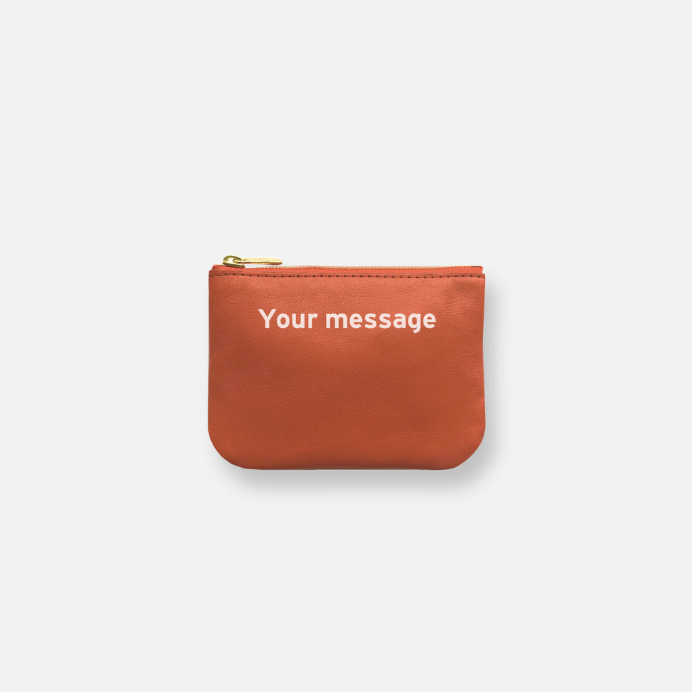 Load image into Gallery viewer, MINI MESS POUCH • PUMPKIN