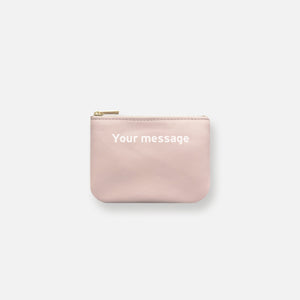 MINI MESS POUCH • BLUSH