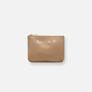 MINI MESS POUCH • CAFE AU LAIT