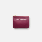 MINI MESS POUCH • CHOU ROUGE