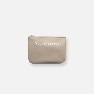 Load image into Gallery viewer, MINI MESS POUCH • ECRU