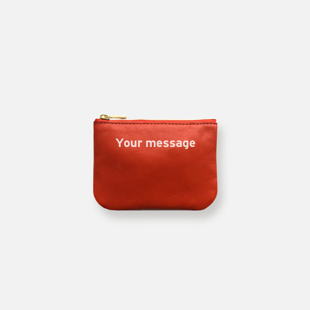 Load image into Gallery viewer, MINI MESS POUCH • HAPPY ORANGE