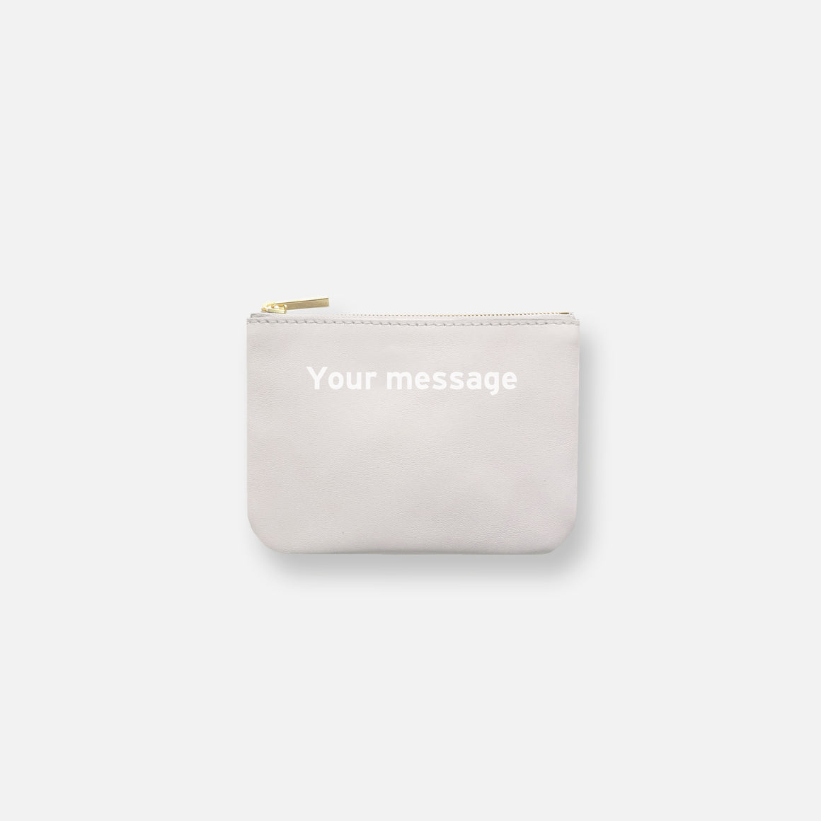 MINI MESS POUCH • OFF WHITE