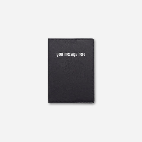 PASSPORT HOLDER • BLACK