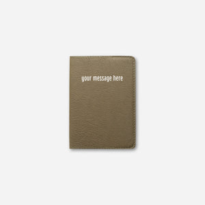 PASSPORT HOLDER • BRONZE OLIVE
